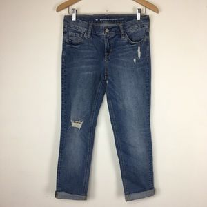 Old Navy Boyfriend Straight jeans with holes
